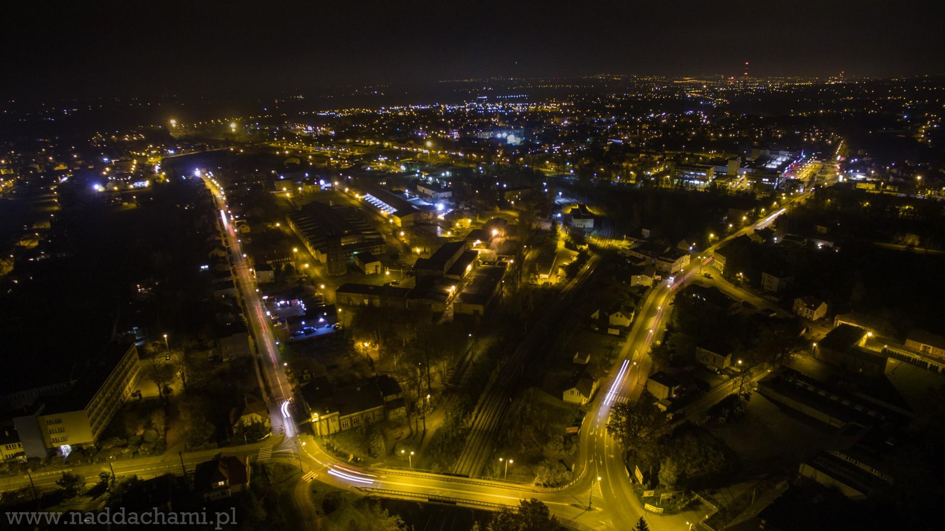 Czechopl Foto Dnia Ulica Słowackiego Rozświetlona W Nocy