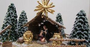 Gminny Konkurs na Rodzinną Szopkę Bożonarodzeniową
