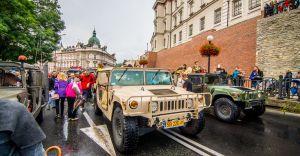 [ZDJĘCIA] Operacja Południe - parada i pokazy pojazdów militarnych