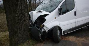 Wypadek samochodowy w Ligocie