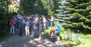 Cykl wycieczek po Cygańskim Lesie organizuje Stowarzyszenie Olszówka