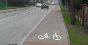 �cie�ka rowerowa w Czechowicach