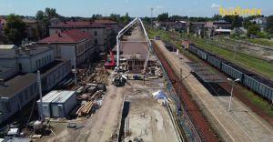 [WIDEO] Lipcowa relacja z przebudowy węzła kolejowego