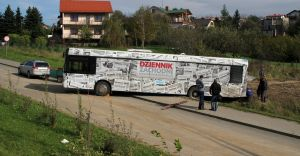 Foto dnia: problem z autobusem