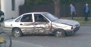 Wypadek na ulicy Traugutta