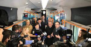 Wicepremier i minister w pociągu do Czechowic-Dziedzic