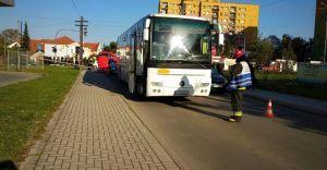 Tragedia na Traugutta! Nie żyje mężczyzna potrącony przez autobus