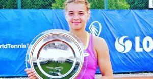Maja Chwalińska wygrywa drugi z rzędu zawodowy turniej!