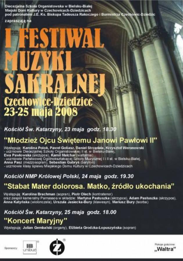 Festiwal Muzyki Sakralnej w mieście