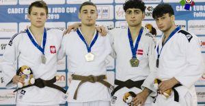 Srebrny medal Wojciecha Grądzkiego w Pucharze Europy kadetów!