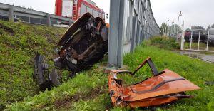 [ZDJĘCIA] Poważny wypadek na DK-1 w Goczałkowicach