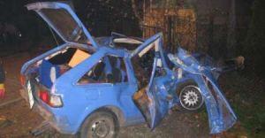 Wypadek na jedynce w Goczałkowicach