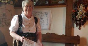 Otwarcie wystawy haftu Marii Kubik w Miejskim Domu Kultury
