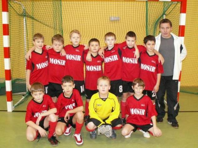 Zmagania najmłodszych piłkarzy
