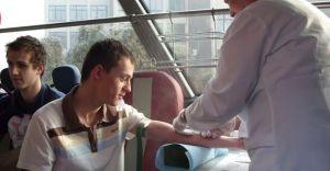 Akcja krwiodawstwa w ZS Silesia