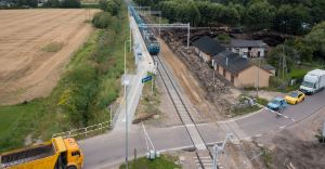 [FOTO] Stacje kolejowe w Kaniowie i Dankowicach zyskały nowe perony