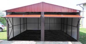 Garaż blaszany czy betonowy - który lepszy?