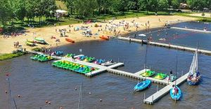 [Ciekawe miejsca] Ośrodek Sportów Wodnych w Łące