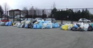 Udana zbiórka segregowanych odpadów
