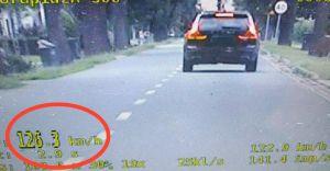 Mizerów: czechowiczanin pędził 126 km/h w terenie zabudowanym
