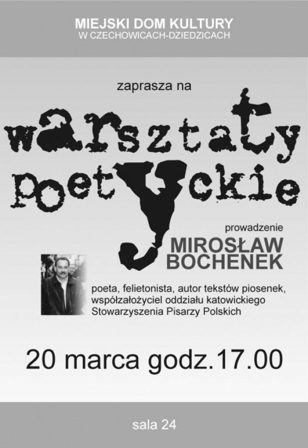 Warsztaty poetyckie w MDK-u