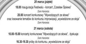 Festiwal Wywodzących ze Słowa
