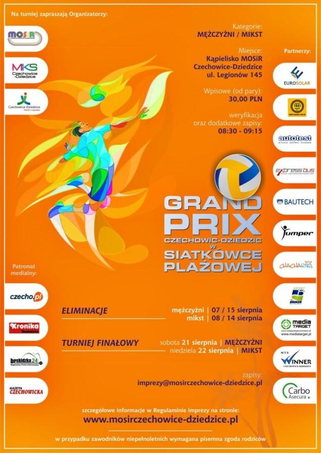 MOSiR zaprasza na Grand Prix Czechowic-Dziedzic w siatkówce plażowej