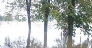 Foto-temat: Powódź w Czechowicach