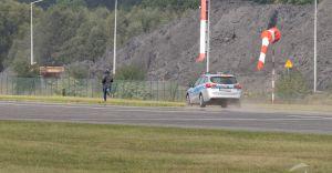 To tylko ćwiczenia: Intruz wdarł się na płytę lotniska w Kaniowie