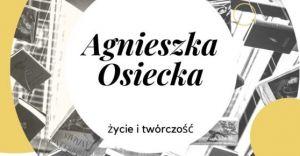 """Klub czytelniczy """"Drugie dno"""" o życiu i twórczości Agnieszki Osieckiej"""