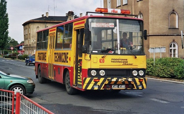 Pojazd pogotowia technicznego czechowickiego PKM