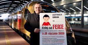 Kolej na Ferie - bezpłatne przejazdy dla dzieci i młodzieży