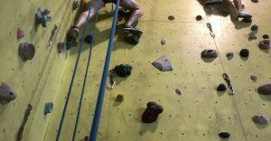 Wspinaj się z Diablakiem! Trening na ściance wspinaczkowej