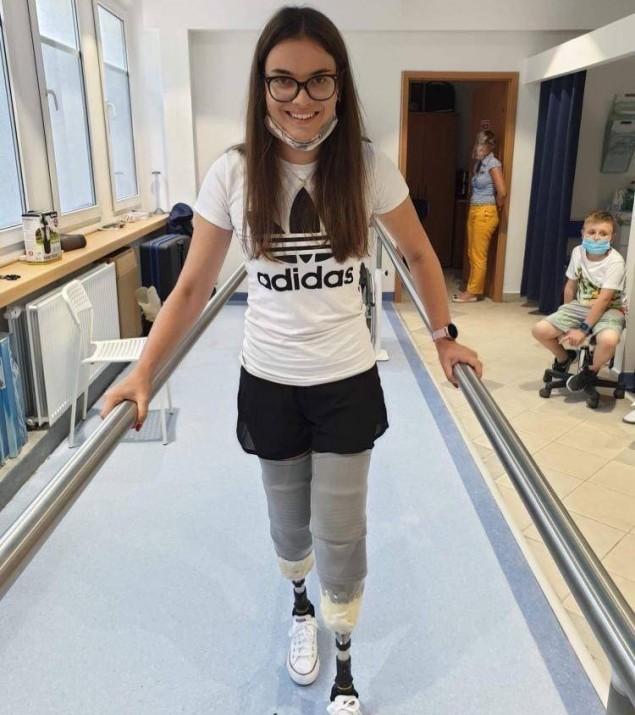 Dzięki ludziom dobrej woli Judyta może chodzić