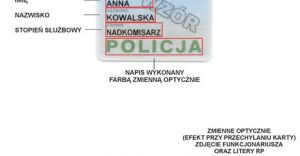 Nowe legitymacje policyjne