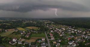 Foto-dnia: środowa burza nad Miliardowicami