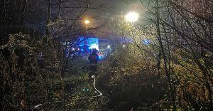 Cztery zastępy w akcji. Kolejny pożar w pustostanie przy ulicy Moniuszki
