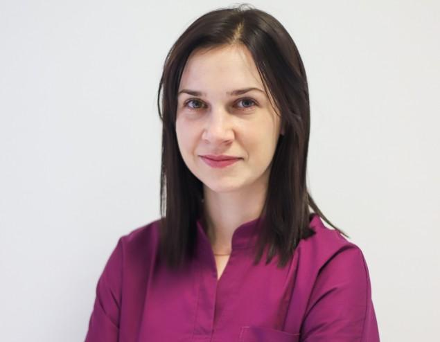 mgr Karolina Wątor - kosmetolog, podolog, właścicielka salonu kosmetycznego Art of Beauty