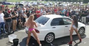 [WIDEO, ZDJĘCIA] Moto Show Bielsko-Biała: drift, stunt, wrak race
