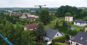 [WIDEO] Tauron wykorzystuje drony do budowy linii wysokiego napięcia