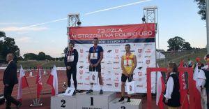 Jakub Pająk wicemistrzem Polski U20 w biegu na 400 m