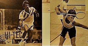 Śląska Liga Squash'a w stylu lat '80 - gramy drewnianymi rakietami!