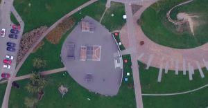 [WIDEO] Skatepark na osiedlu Północ - ujęcia z drona