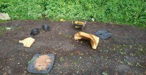 Śmieciowy problem Burzeja - wielkie sprzątanie i... nowe dzikie wysypisko