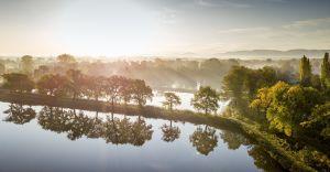 Foto-dnia: poranek nad stawami w Czechowicach-Dziedzicach