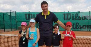 Sukcesy zawodników Śląskiego Centrum Tenisa