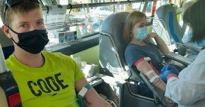 [FOTO] Mieszkańcy gminy chętnie podzielili się krwią