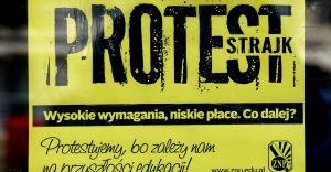 Strajk nie zostanie przerwany. Brak porozumienia nauczycieli z rządem