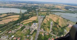[WIDEO] Czechowice-Dziedzice i Goczałkowice z helikoptera