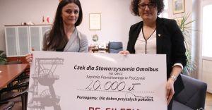 PG Silesia przekazało 20 tys. zł na rzecz szpitala w Pszczynie